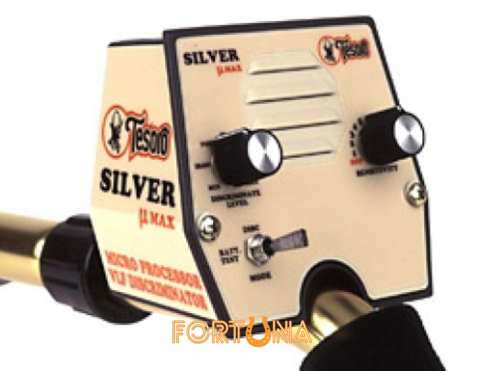Металошукач Tesoro Silver uMAX