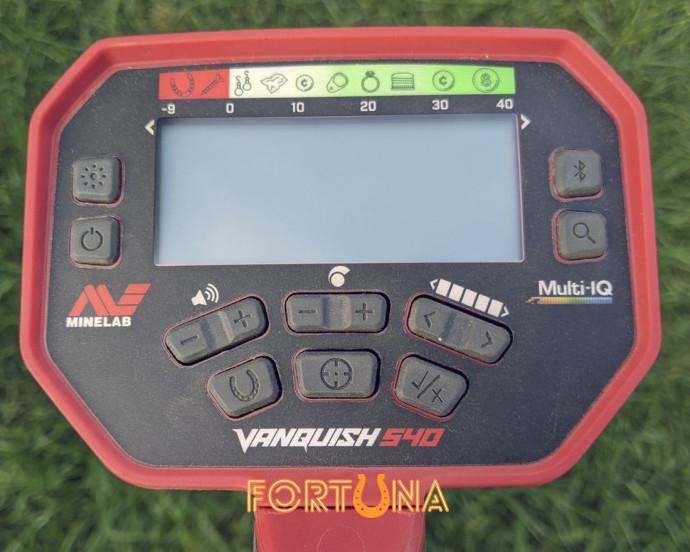 Тестовый Minelab Vanquish 540