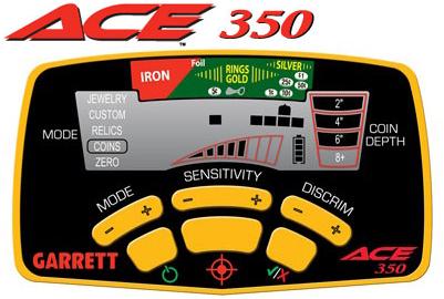 Металлоискатель Garrett Ace 350