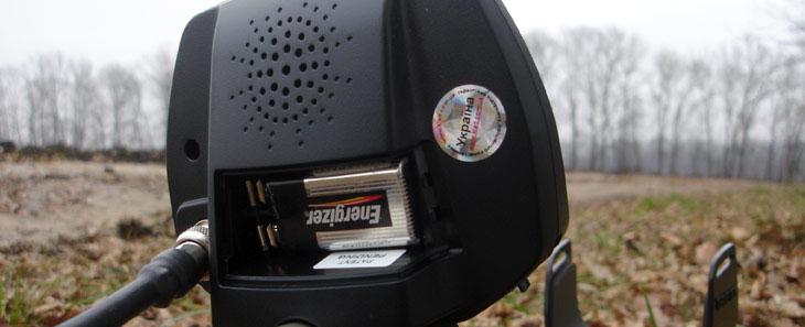 Задняя крышка металлоискателя Teknetics Eurotek PRO 8